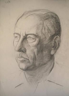Racei Drawing - Father by Yuri Yudaev