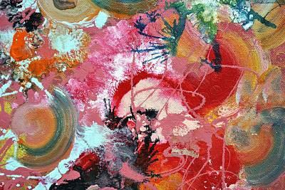 Fluid Photograph - Fluid Acrylic Paint by Sumit Mehndiratta