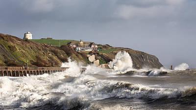Folkestone Storm Imogen  Print by Ian Hufton