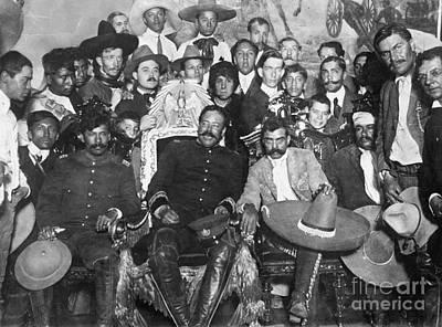 Villa Photograph - Francisco Pancho Villa by Granger