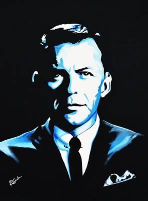 Frank Sinatra Print by Richard Garnham