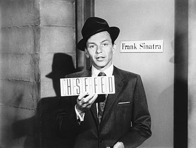 Frank Sinatra Print by Underwood Archives