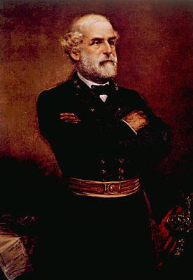 Photograph - General Robert E. Lee 1807-1870 by Everett