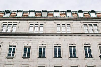 Brick Building Photograph - German Building  by Tom Gowanlock