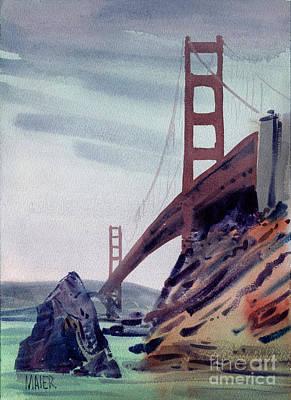 Golden Gate Original by Donald Maier