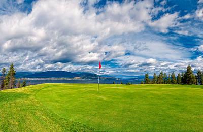 Golf Tee Print by Ulrich Schade