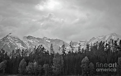Grand Tetons Print by Brent Parks