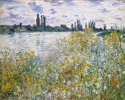 Landscape Painting - Ile Aux Fleurs Near Vetheuil by Claude Monet