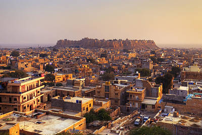 Jaisalmer - India Print by Joana Kruse