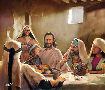 Jesus Print by Kero Magdy