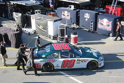 Daytona 500 Photograph - Junior's Number 88 by Jamie Baldwin