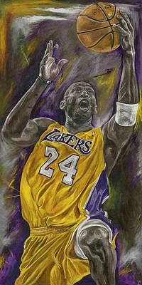 Kobe Bryant Print by David Courson