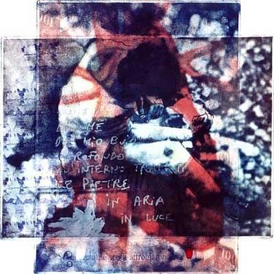 Pity Mixed Media - La Pieta by Giovanni Greppi