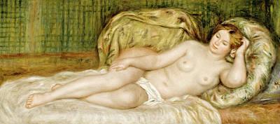Pierre-auguste Renoir Painting - Large Nude by Pierre-Auguste Renoir