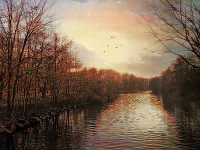 Winter Trees Photograph - Last Light by Jessica Jenney