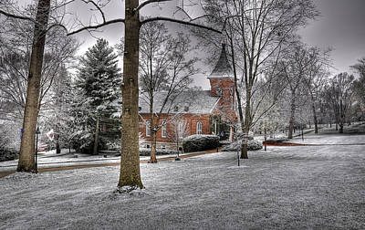 Lee Winter Photograph - Lee Chapel by Todd Hostetter