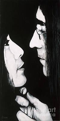 Lennon And Yoko Original by Ashley Price