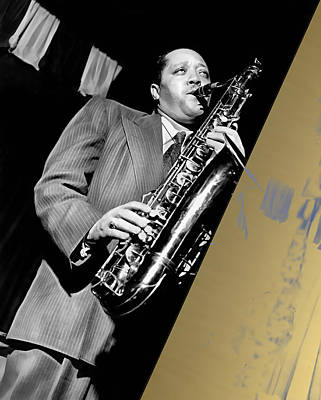 Jazz Mixed Media - Lester Young Collection by Marvin Blaine