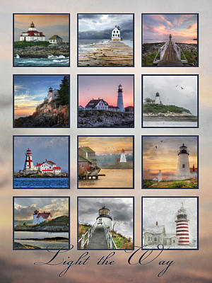 Quoddy Photograph - Light The Way by Lori Deiter