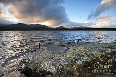 Loch Photograph - Loch Morlich by Stephen Smith