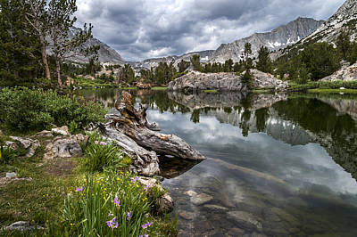 Stormy Weather Photograph - Long Lake by Cat Connor