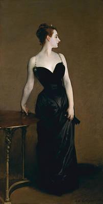 Portrait Painter Painting - Madame X by John Singer Sargent