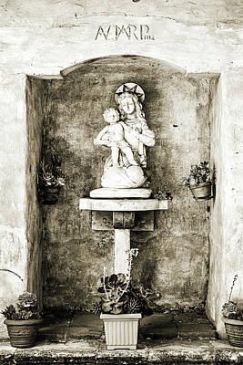 Madonna And Child Print by Scott Pellegrin