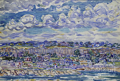 Waters Painting - Maurice Brazil Prendergast  by MotionAge Designs