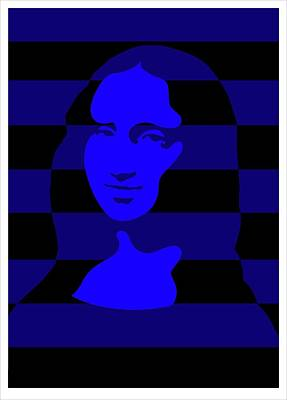Digital Art - Mona by Asbjorn Lonvig