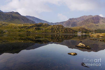 Mountain View Photograph - Morning Reflections by Ian Mitchell