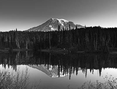 Mount Rainier National Park Print by Brendan Reals