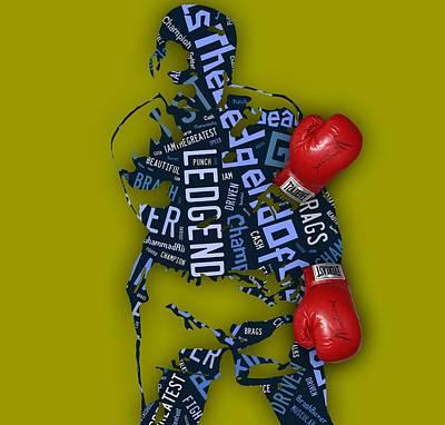 Muhammad Ali I Am The Greatest Print by Marvin Blaine