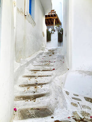 Mykonos Print by HD Connelly