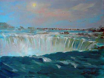 Niagara Falls Print by Ylli Haruni