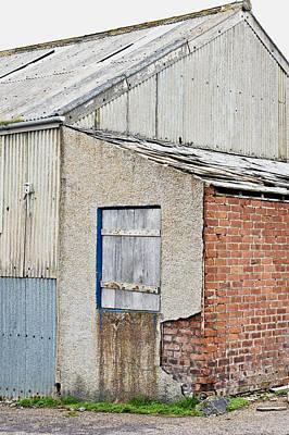 Old Barn Print by Tom Gowanlock
