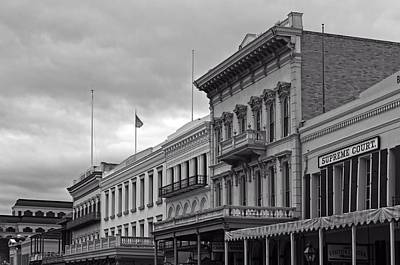 Old Sacramento - Architectural Details Print by Mountain Dreams