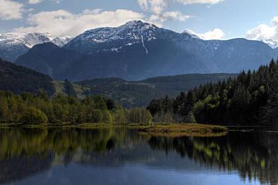 One Mile Lake Landscape Print by Pierre Leclerc Photography