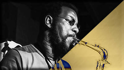 Saxophone Mixed Media - Ornette Coleman Collection by Marvin Blaine