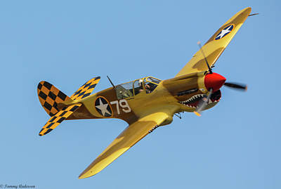 Photograph - P-40 Warhawk by Tommy Anderson