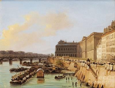 Louvre Painting - Paris by Celestial Images