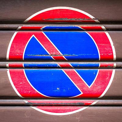 Parking Ban Print by Germano Poli
