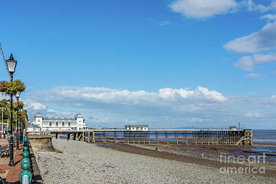 Photograph - Penarth Pier 2 by Steve Purnell
