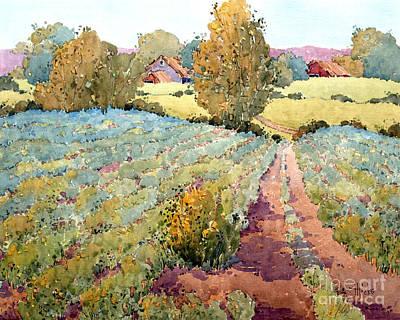 Painting - Pennsylvania Idyll by Joyce Hicks
