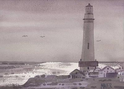 Pigeon Point Light Original by Donald Maier