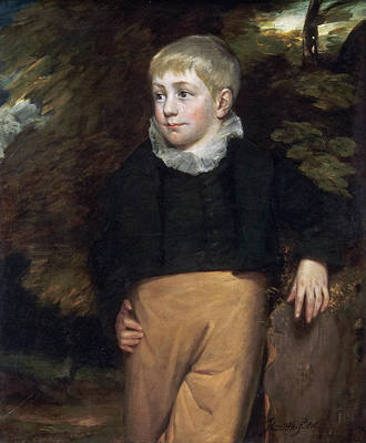 English Painting - Portrait Of Master Crosby by John Constable