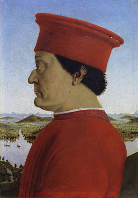 Royal Painting - Portraits Of The Duke And Duchess Of Urbino by Piero della Francesca