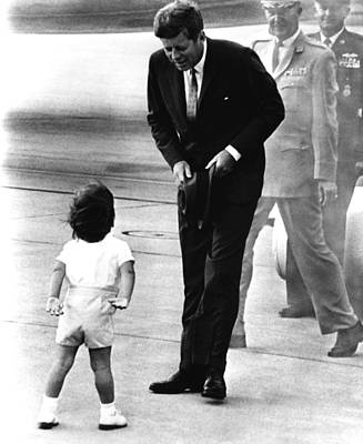 President John F. Kennedy Print by Everett