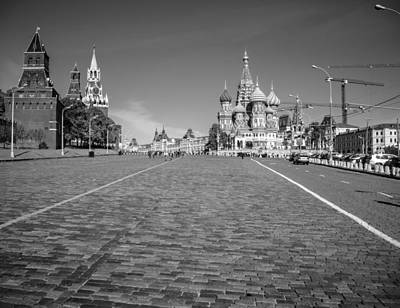 St Basils Photograph - Red Square by Alexey Stiop