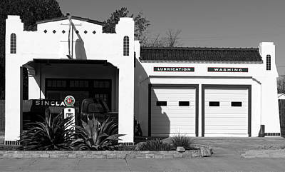 Restored Vintage Sinclair Gas Station Print by Mountain Dreams