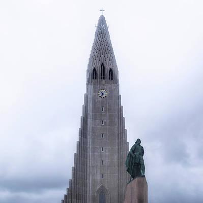 Architektur Photograph - Reykjavik - Iceland by Joana Kruse